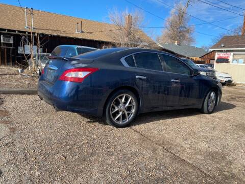 2010 Nissan Maxima for sale at Fast Vintage in Wheat Ridge CO