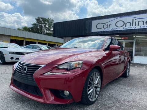 2014 Lexus IS 250 for sale at Car Online in Roswell GA