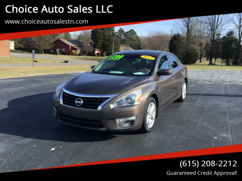 2013 Nissan Altima for sale at Choice Auto Sales LLC - Cash Inventory in White House TN
