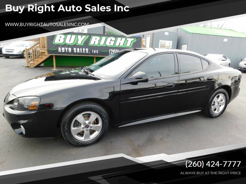 2005 Pontiac Grand Prix for sale at Buy Right Auto Sales Inc in Fort Wayne IN