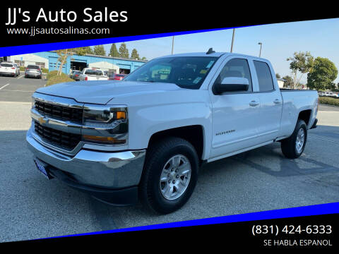 2016 Chevrolet Silverado 1500 for sale at JJ's Auto Sales in Salinas CA