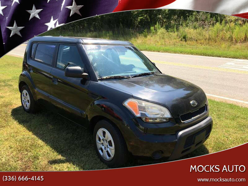 2010 Kia Soul for sale at Mocks Auto in Kernersville NC