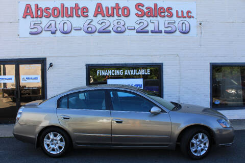 2005 Nissan Altima for sale at Absolute Auto Sales in Fredericksburg VA