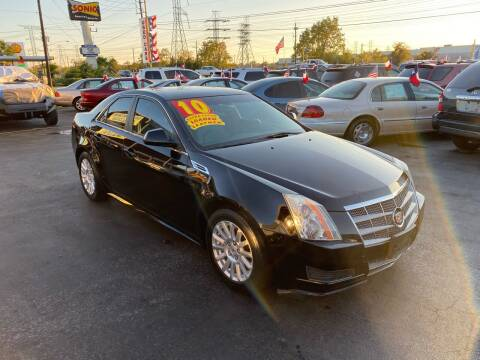 2010 Cadillac CTS for sale at Texas 1 Auto Finance in Kemah TX