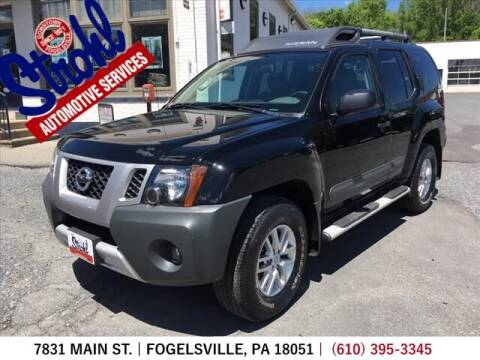 2015 Nissan Xterra for sale at Strohl Automotive Services in Fogelsville PA