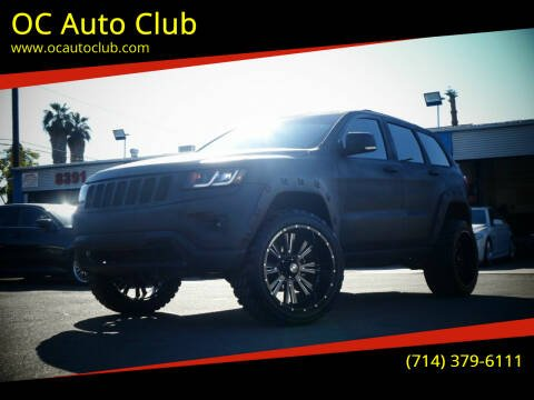 2016 Jeep Grand Cherokee for sale at OC Auto Club in Midway City CA