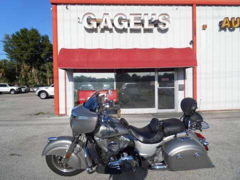 2016 Indian Chieftain for sale at Gagel's Auto Sales in Gibsonton FL
