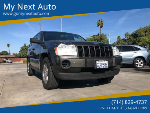 2006 Jeep Grand Cherokee for sale at My Next Auto in Anaheim CA