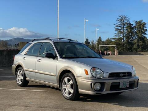 2002 Subaru Impreza for sale at Rave Auto Sales in Corvallis OR