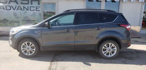 2018 Ford Escape for sale at HomeTown Motors in Gillette WY