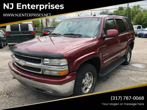 2003 Chevrolet Tahoe for sale at NJ Enterprises in Indianapolis IN
