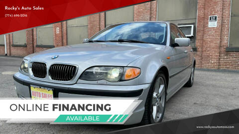 2005 BMW 3 Series for sale at Rocky's Auto Sales in Worcester MA