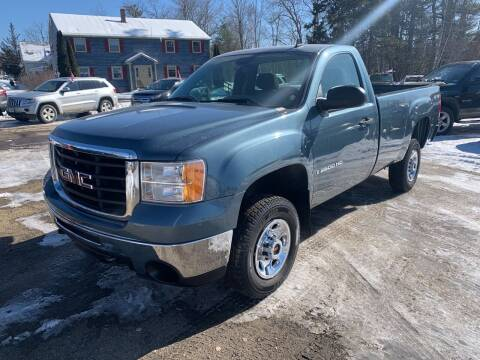 2008 GMC Sierra 2500HD for sale at Winner's Circle Auto Sales in Tilton NH