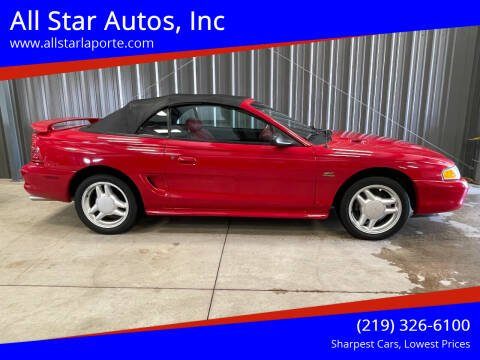 1994 Ford Mustang for sale at All Star Autos, Inc in La Porte IN