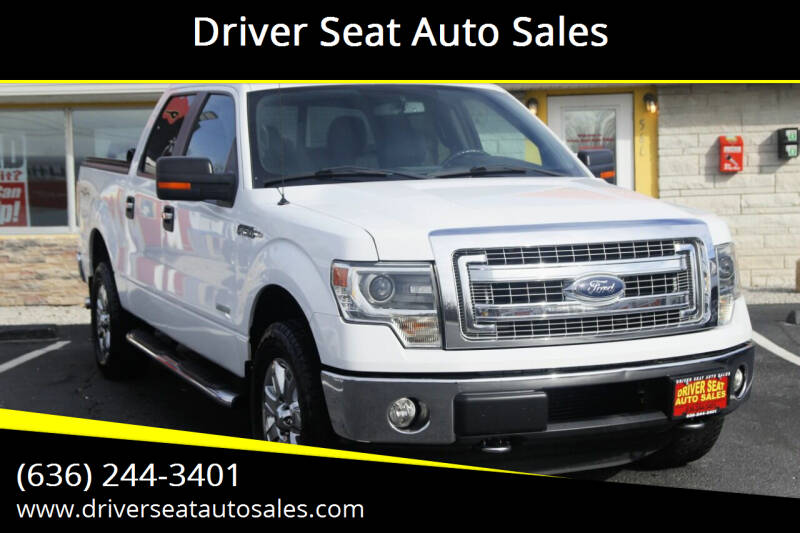 2014 Ford F-150 for sale at Driver Seat Auto Sales in St. Charles MO