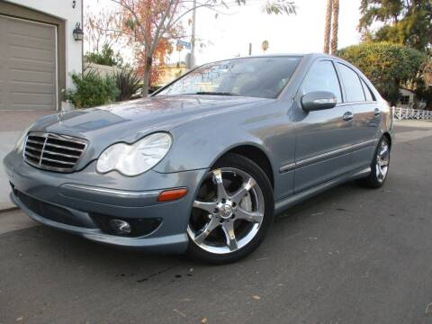 2007 Mercedes-Benz C-Class for sale at Valley Coach Co Sales & Lsng in Van Nuys CA