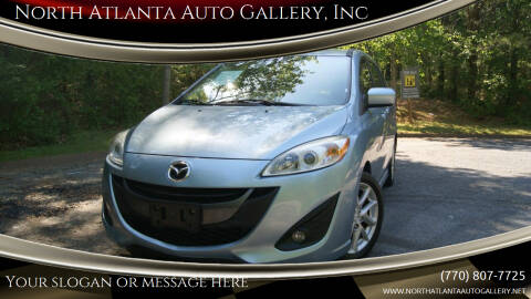 2012 Mazda MAZDA5 for sale at North Atlanta Auto Gallery, Inc in Alpharetta GA