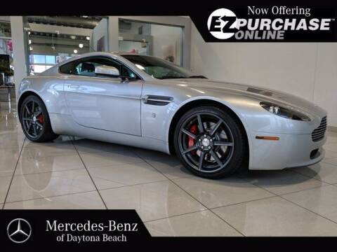 2007 Aston Martin V8 Vantage for sale at Mercedes-Benz of Daytona Beach in Daytona Beach FL