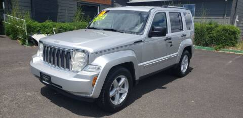 2012 Jeep Liberty for sale at Persian Motors in Cornelius OR