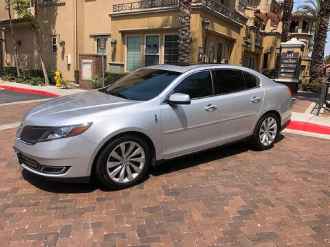 2016 Lincoln MKS for sale at R P Auto Sales in Anaheim CA