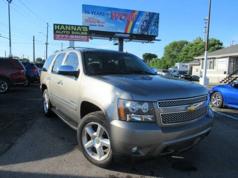 2009 Chevrolet Tahoe for sale at Hanna's Auto Sales in Indianapolis IN