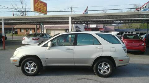 2002 Lexus RX 300 for sale at Lewis Used Cars in Elizabethton TN