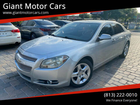 2009 Chevrolet Malibu for sale at Giant Motor Cars in Tampa FL