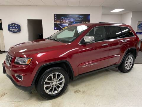 2014 Jeep Grand Cherokee for sale at Used Car Outlet in Bloomington IL