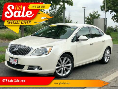 2013 Buick Verano for sale at GTR Auto Solutions in Newark NJ