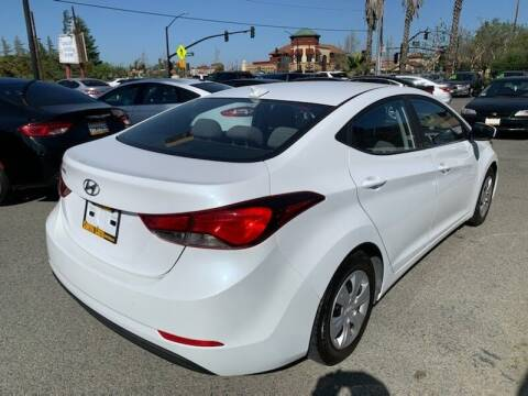2016 Hyundai Elantra for sale at Contra Costa Auto Sales in Oakley CA