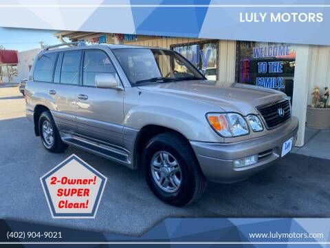 2002 Lexus LX 470 for sale at Luly Motors in Lincoln NE