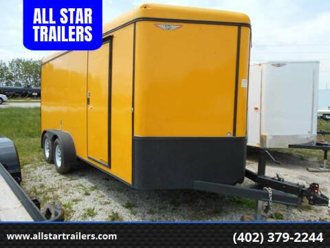 2015 H&H 16 FOOT CARGO for sale at ALL STAR TRAILERS Cargos in , NE