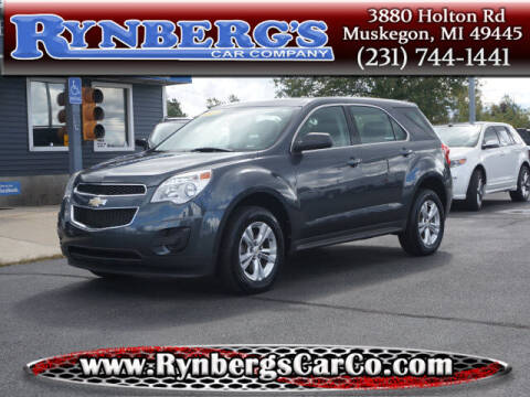 2011 Chevrolet Equinox for sale at Rynbergs Car Co in Muskegon MI