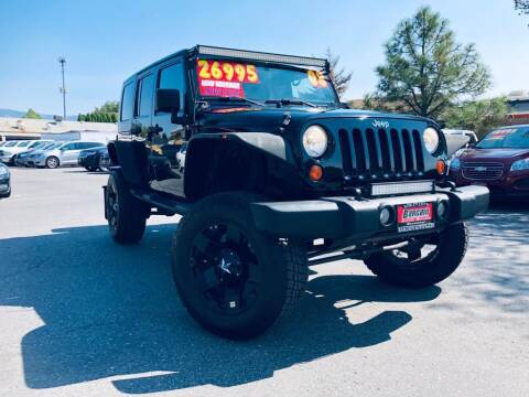 2008 Jeep Wrangler Unlimited for sale at Bargain Auto Sales LLC in Garden City ID