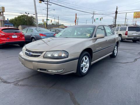 2003 Chevrolet Impala for sale at Rucker's Auto Sales Inc. in Nashville TN