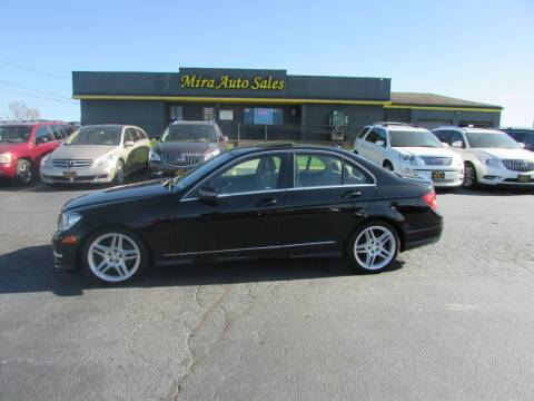 2013 Mercedes-Benz C-Class for sale at MIRA AUTO SALES in Cincinnati OH