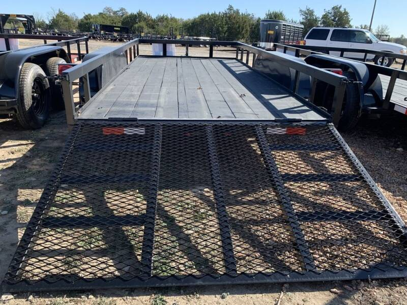 """2021 P & C - UTILITY 77"""" X 12'  - IN for sale at LJD Sales in Lampasas TX"""