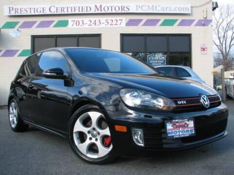 2010 Volkswagen GTI for sale at Prestige Certified Motors in Falls Church VA