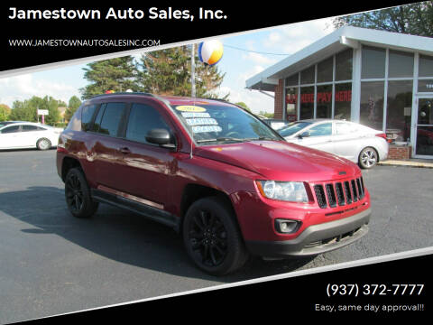 2015 Jeep Compass for sale at Jamestown Auto Sales, Inc. in Xenia OH