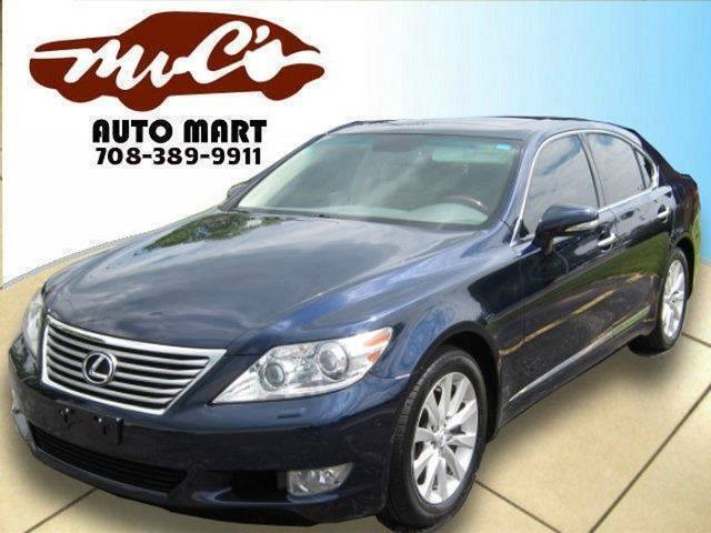2012 Lexus LS 460 for sale at Mr.C's AutoMart in Midlothian IL