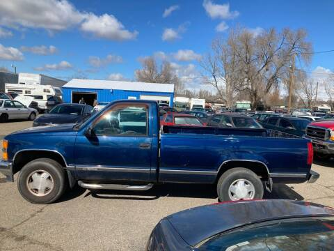 1998 Chevrolet C/K 1500 Series for sale at AFFORDABLY PRICED CARS LLC in Mountain Home ID