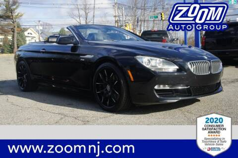2012 BMW 6 Series for sale at Zoom Auto Group in Parsippany NJ