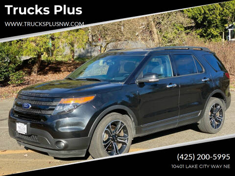 2014 Ford Explorer for sale at Trucks Plus in Seattle WA