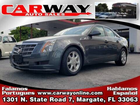 2008 Cadillac CTS for sale at CARWAY Auto Sales in Margate FL
