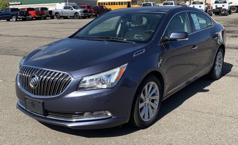 2014 Buick LaCrosse for sale at Father & Sons Auto Sales in Leeds NY
