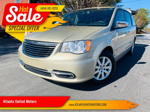 2011 Chrysler Town and Country for sale at Atlanta United Motors in Buford GA