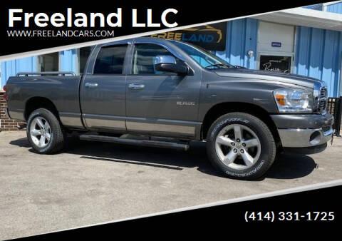 2008 Dodge Ram Pickup 1500 for sale at Freeland LLC in Waukesha WI