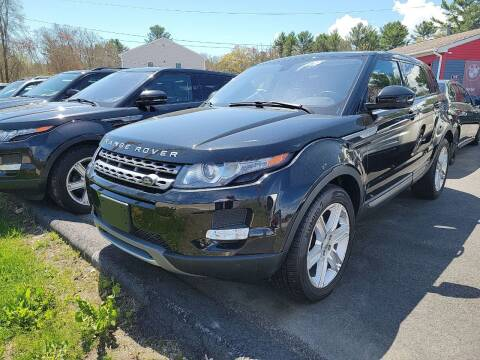 2014 Land Rover Range Rover Evoque for sale at Top Quality Auto Sales in Westport MA