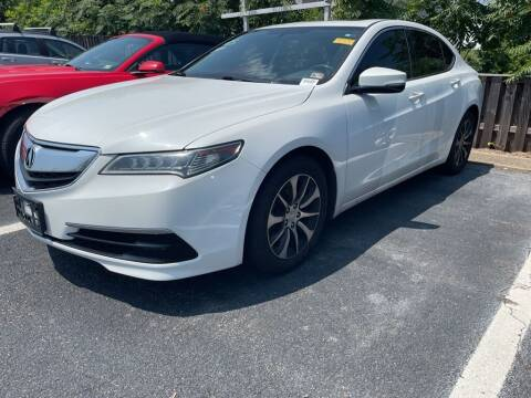 2016 Acura TLX for sale at Radley Cadillac in Fredericksburg VA