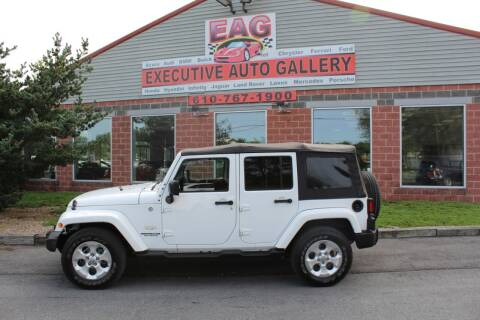 2015 Jeep Wrangler Unlimited for sale at EXECUTIVE AUTO GALLERY INC in Walnutport PA